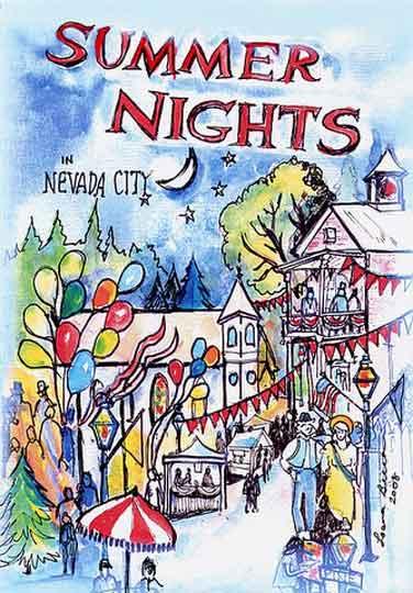 Nevada City Summer-Nights